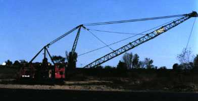 Page Dragline in Iowa